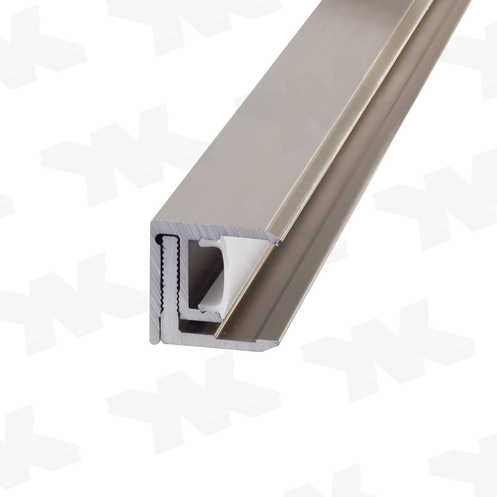 LED Profile adjustable, stainless steel optic