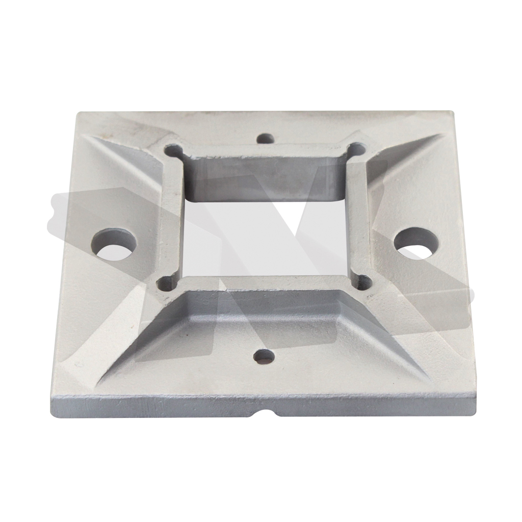 Baluster flange plate, square